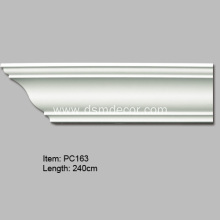 Special Design for Ceiling Cornice Mouldings Plain Cornice Crown Moulding export to Spain Importers