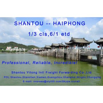 LCL Consolidation Shipping from Shantou to Haiphong