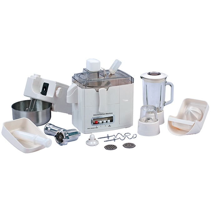 Multi-function 10 cup food processor with glass blender