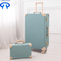 Vintage luggage a 24-inch suitcase