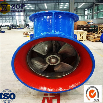 Axial Flow Pump for Alkali Factory