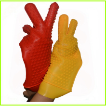 One of Hottest for Supply High Temperature Gloves,Heat Protective Silicone Barbecue Gloves of High Quality Newest Heat Resistant Silicone Kitchen BBQ Gloves supply to Uruguay Factory
