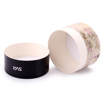 Cheap Round Shaped Paper Jewelry Earring Boxes