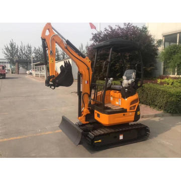 Cheap mini excavator 2 ton small digging machine