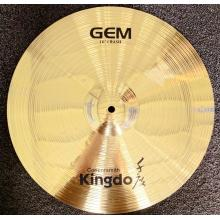 China supplier OEM for Brass Pulse Cymbals H68 Brass Alloy Drums Cymbals supply to Sao Tome and Principe Factories