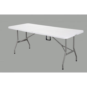 6FT Rectangle Folding Table  Powder Coated Tube