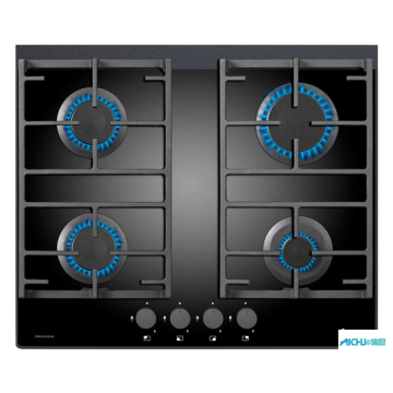 4 Burner Gas On Glass Hob In 60cm