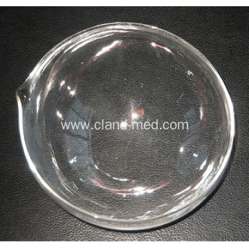 Evaporating Dish Round Bottom with Spout