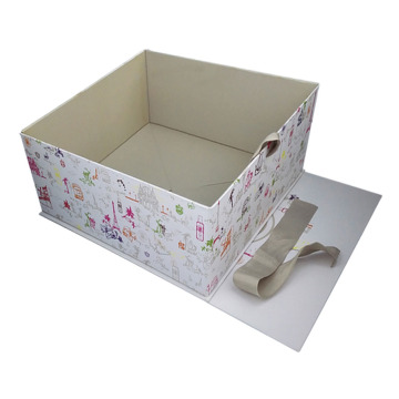 Folding White Matt Garment Packaging Box