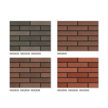 Exterior wall thin brick veneer sale