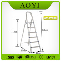 6 steps household aluminum ladder