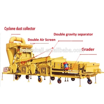 good quality grain cleaning machine/grain vibrating sieve machine/seed cleaning machine