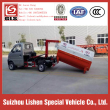 4*2 Small Garbage Trucks 2.5 CBM Hook Arm