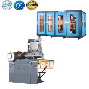 Hot copper melting induction furnace for sale