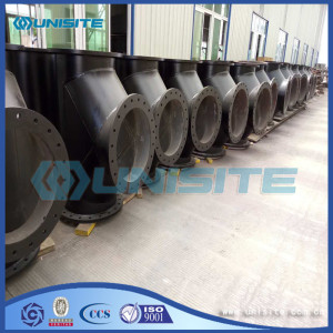 Customized steel pipe branch