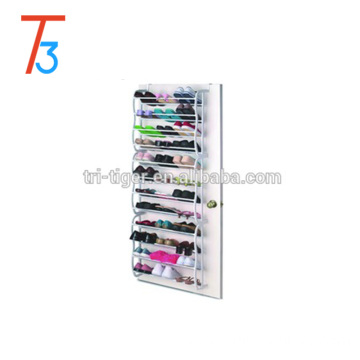 36 pairs portable shoe organizer/ hanging over the door shoe rack