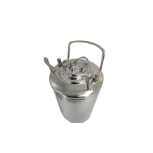 Stainless steel beer can with ball lock product