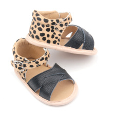 Leopard Soft Sole Kids Sandals