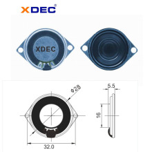 Manufactur standard for Stereo Speakers Loud sound 8ohm 0.5w 28mm mylar speaker supply to Nicaragua Manufacturer