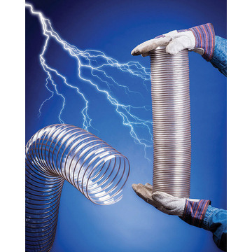 VACUFLEX Antistatic Hose For WoodWorking