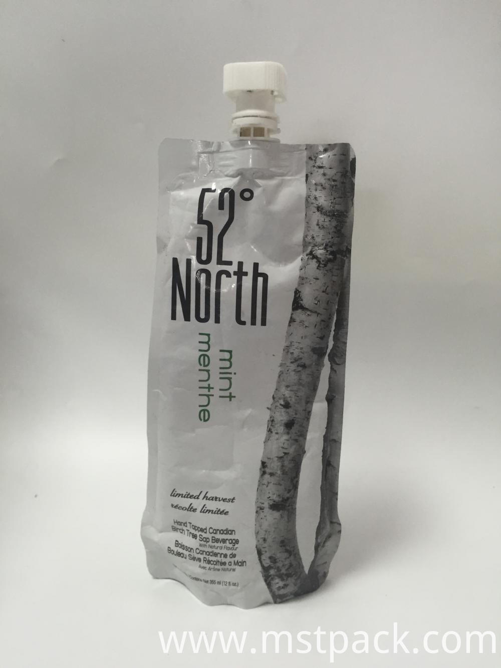 Spout Pouch for Birch Juice