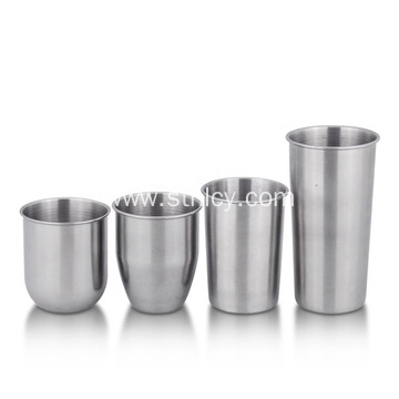 Different Shape Design Stainless Steel Water Cup