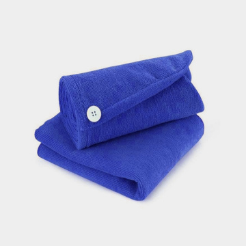 soft microfiber hair towel for long hair