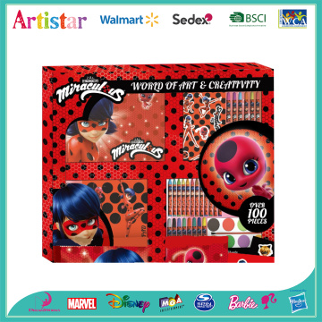 MIRACULOUS LADYBUG 100 pieces deluxe set