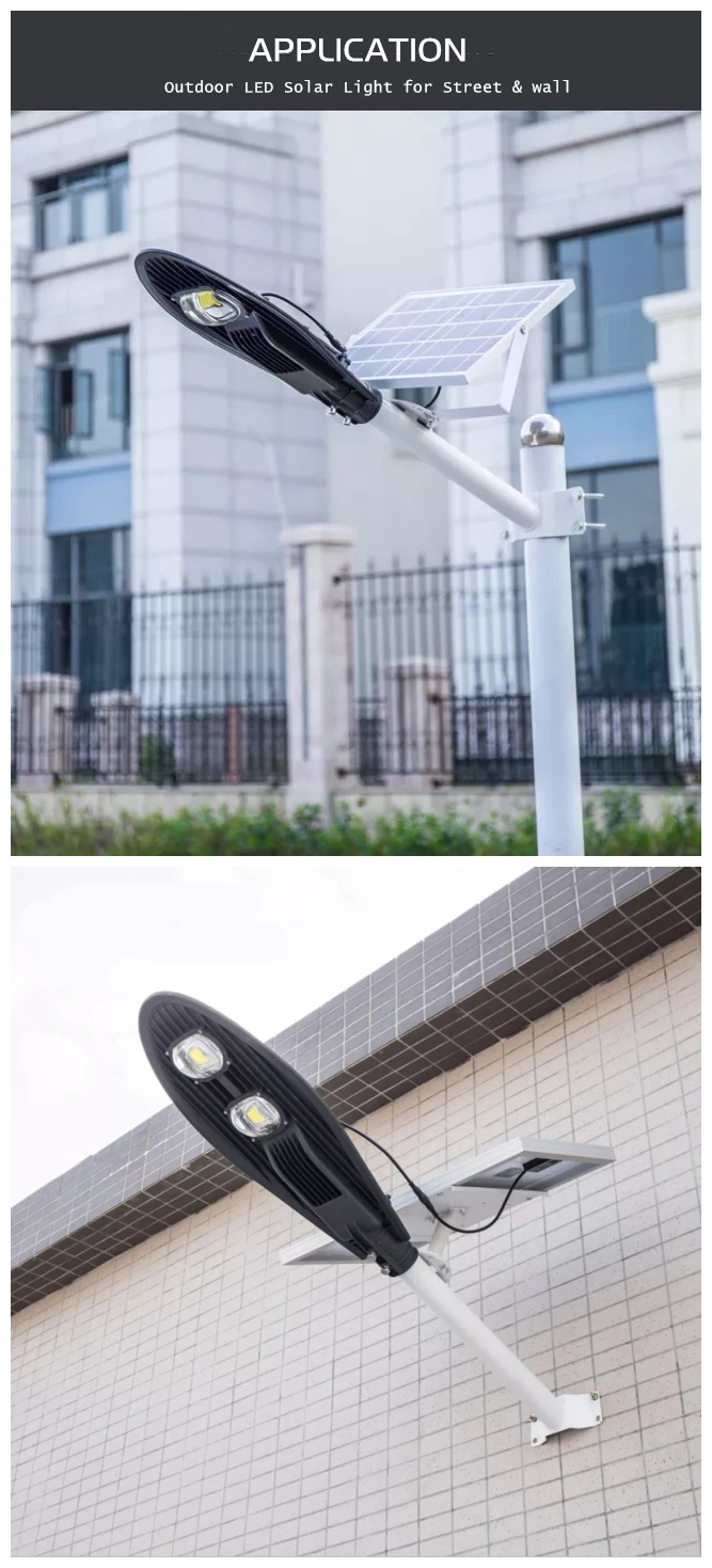 solar outdoor street light application