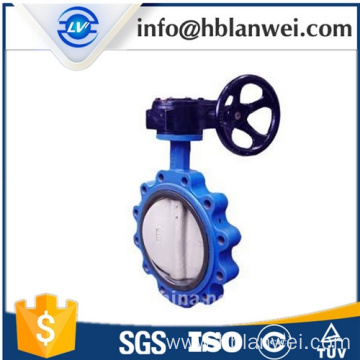 OEM for Concentric Butterfly Valve Ductile iron single wafer type manual butterfly valve export to French Southern Territories Factories