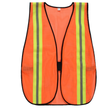 Good Quality for Safety Work Vest 100% polyester mesh Cheap reflective warning vest supply to United States Supplier