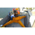 WD80 Good Price Derrick Roof Housetop Crane