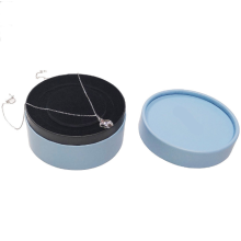 Round-Shaped Packing Paper Jewelry Gift Box
