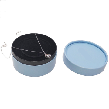 Round-Shaped Packing Paper Gift Box Jewelry Box