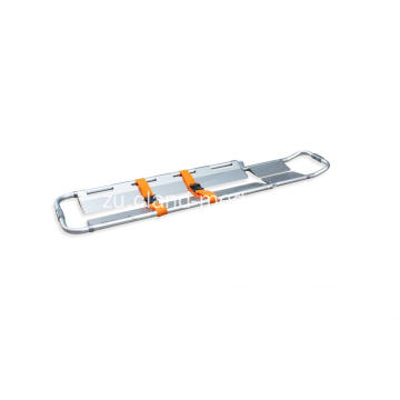 Inwebeka futhi I-Foldable First-Aid Ambulance Medical Scoop Stretchers