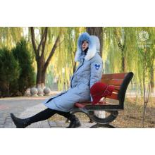 Thickened knee-high size loose down coat