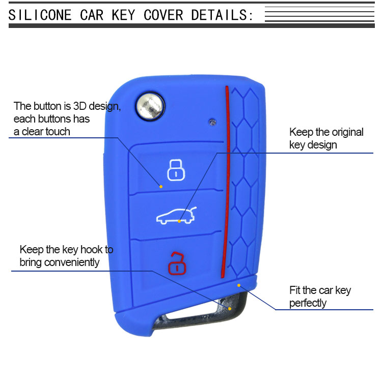 Golf 7 Cars Key cover