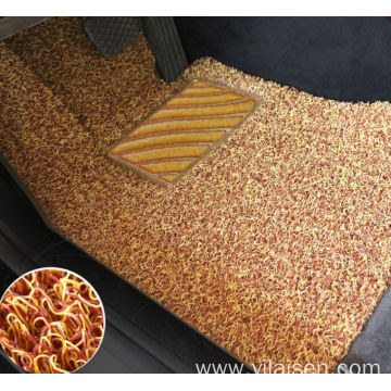 High quality nail backing coil car floor mat