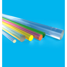 Professional Design for Acrylic Sheet Cast Acrylic rod crystal color clear PMMA bar supply to Netherlands Factories