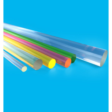 Customized for Clear Acrylic Sheet Cast Acrylic rod crystal color clear PMMA bar supply to Portugal Factories