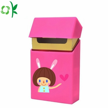 High Quality Cartoon Silicone Cigarette Case Wholesale