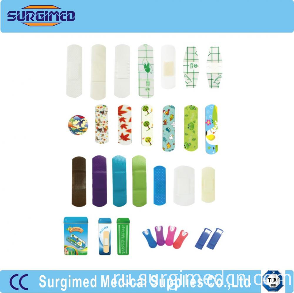 Adhesive Wound Plaster Different Type