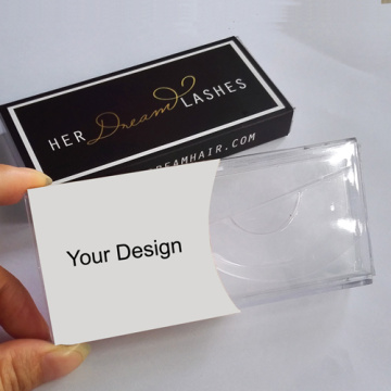 Luxury Custom Brand White Eyelash Paper Box