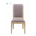 Cloth Art Solid Wood Dining Chair