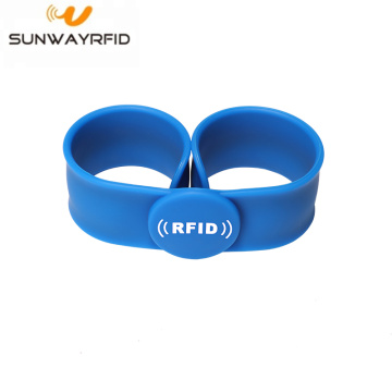 NFC Silicone Slap Bracelet Rfid for Event Festival