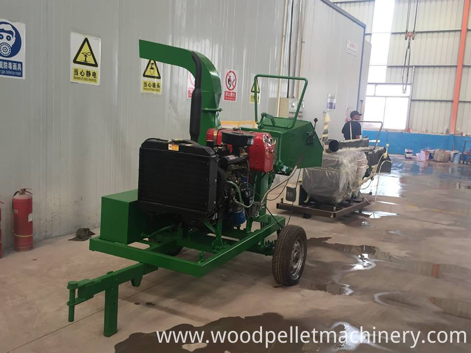 wood chips making machine