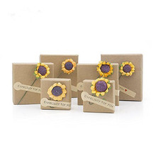 Good Quality for Earring Box Handmade Kraft Paper Jewelry Packaging Gift Box export to Spain Supplier