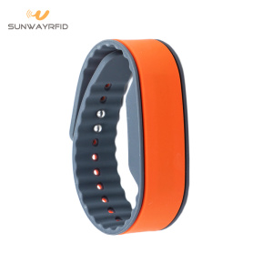 Professional for RFID Chip Bracelet 13.56MHZ NTAG215 Adjustable RFID Bracelet in Silicone supply to Macedonia Manufacturers