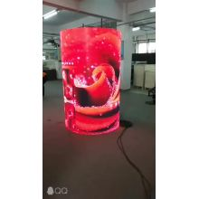 Soft flexible LED display indoor video no cabinets