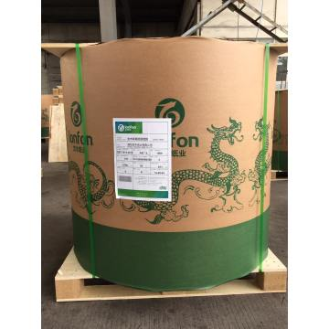 Bond Paper In Roll Packing On Pallet